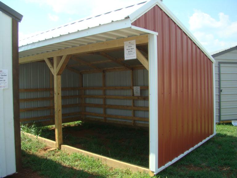 9x16 Horse Barn