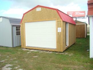 12x16 High Barn Garage
