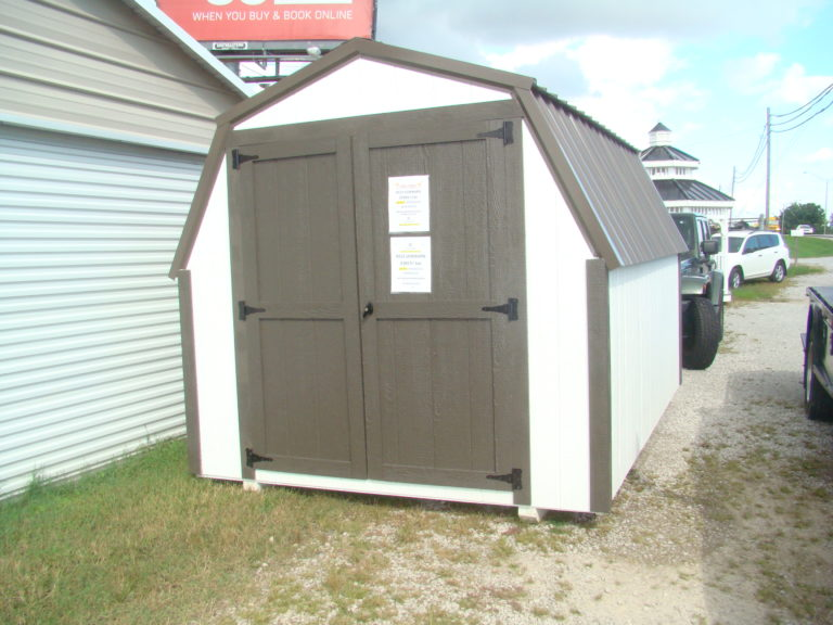8x12 Low barn Shed