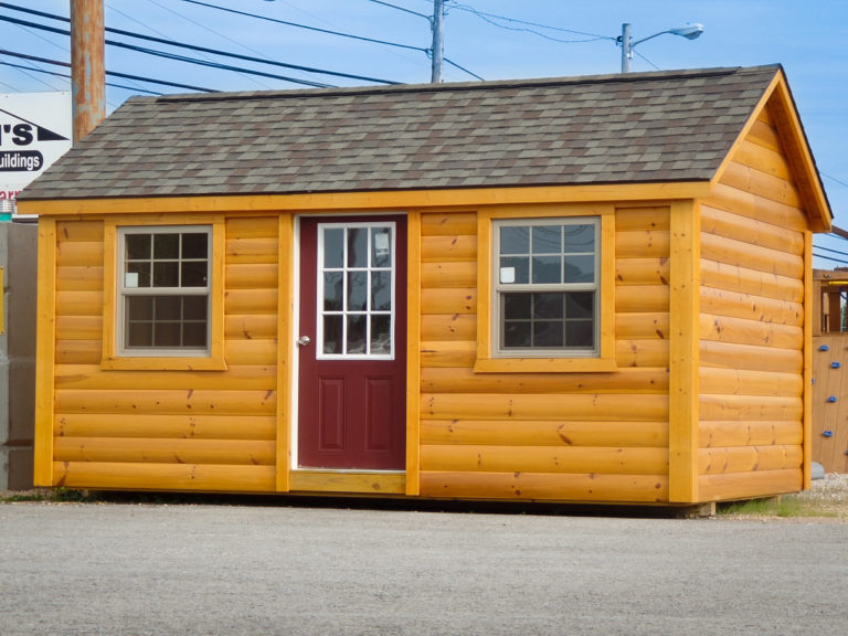 tiny cabins from log