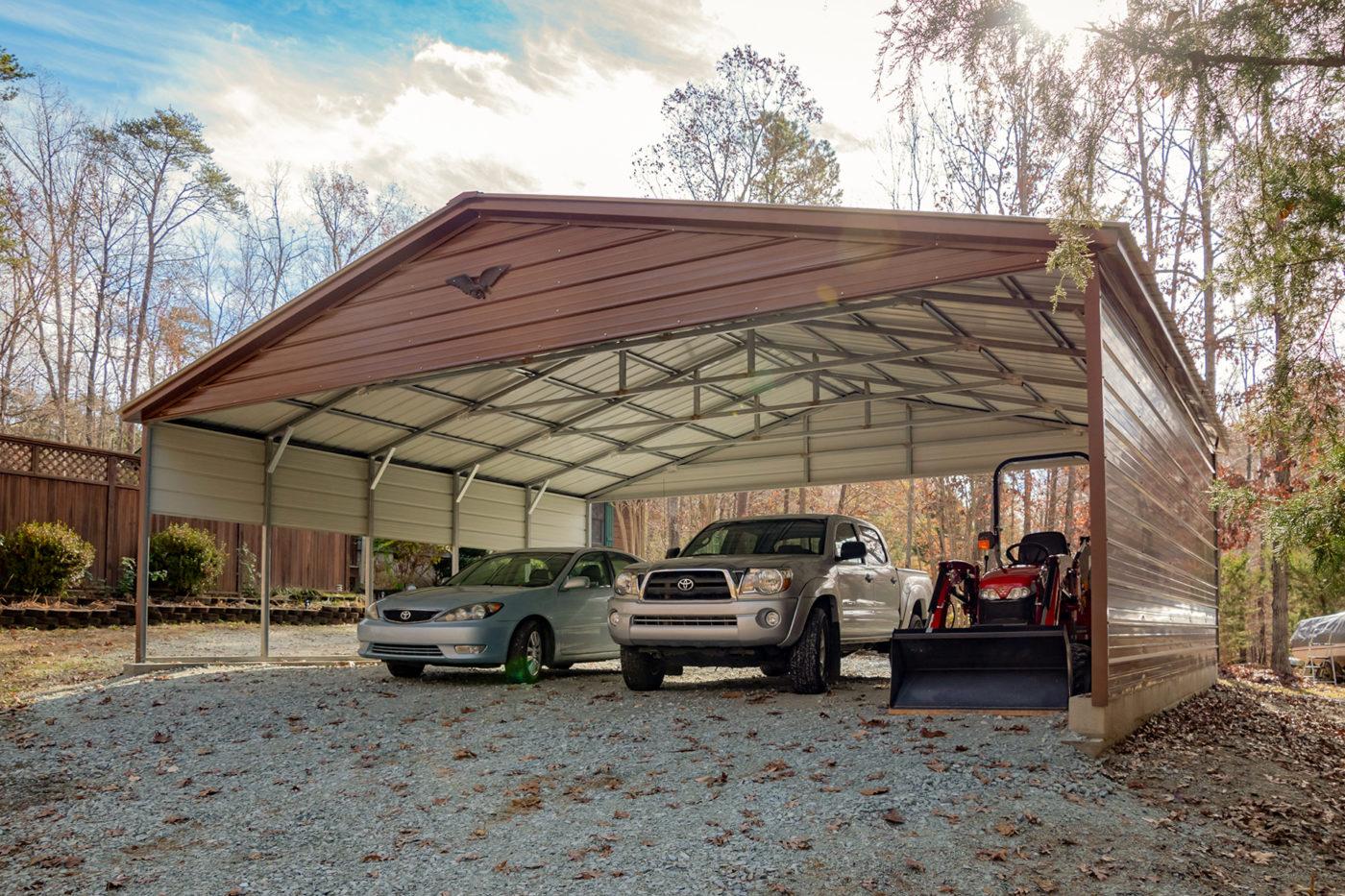 metal portable carport