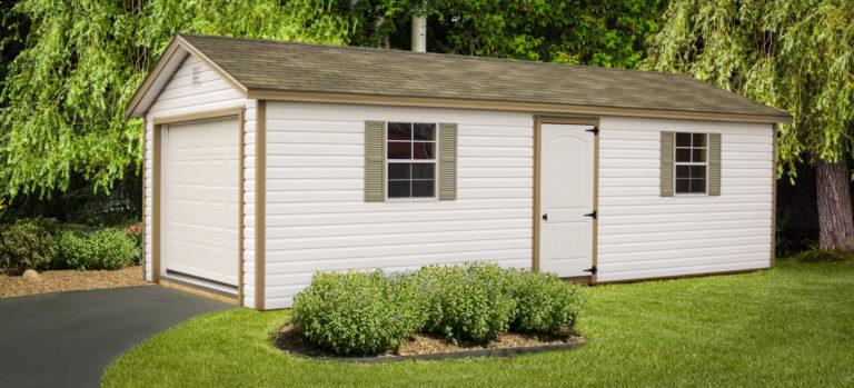 vinyl pre built garages in ky
