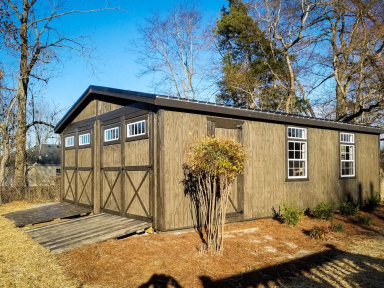 wooden pre built garages for sale