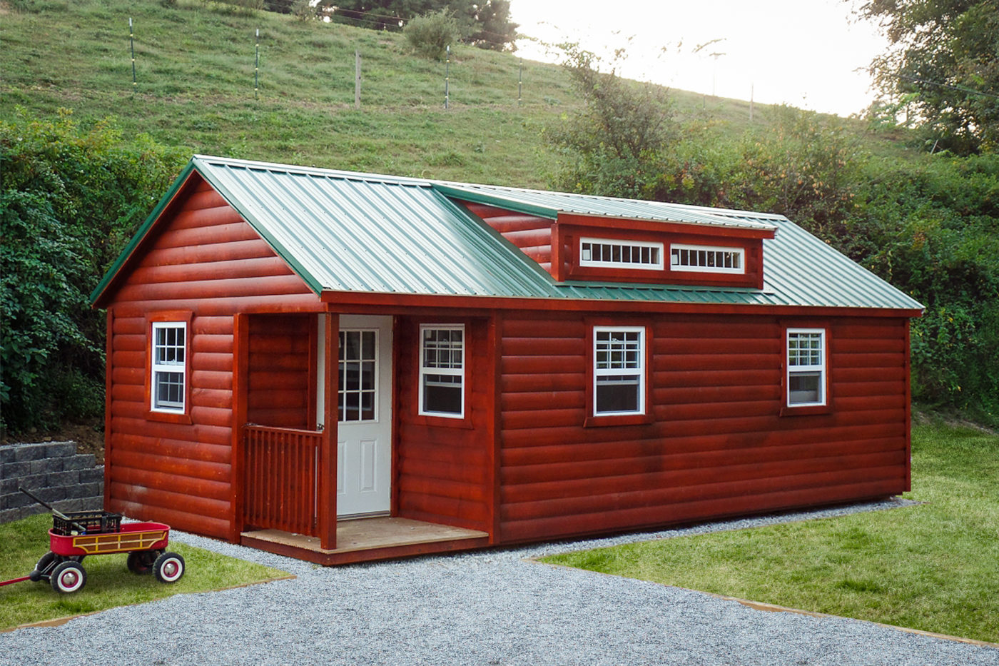portable buildings for vacation homes