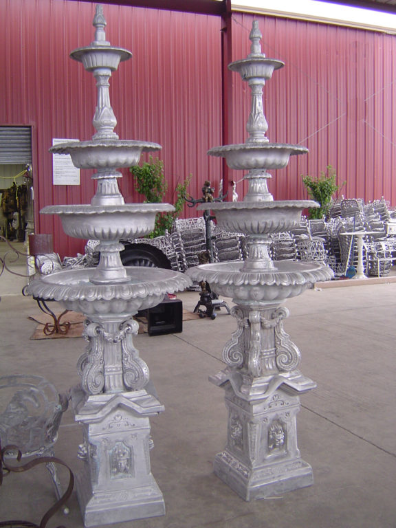 cast iron water fountain