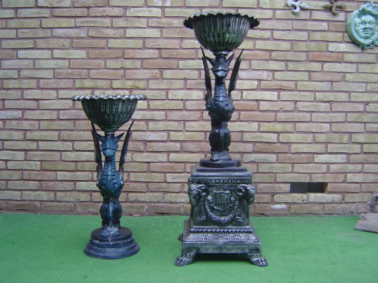 gargoyles urn planters