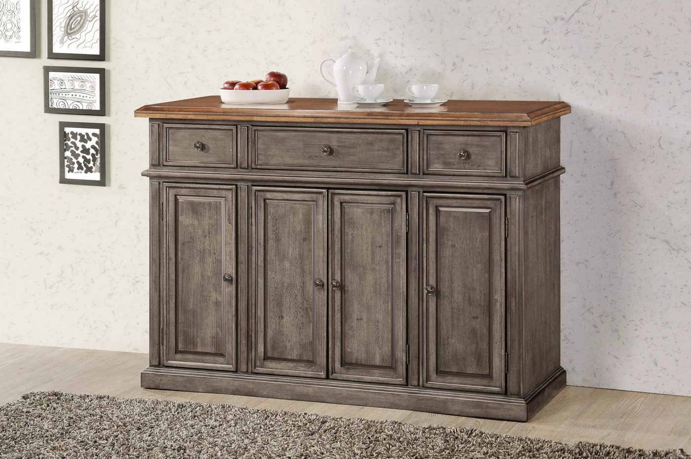 small dining room cabinet chest