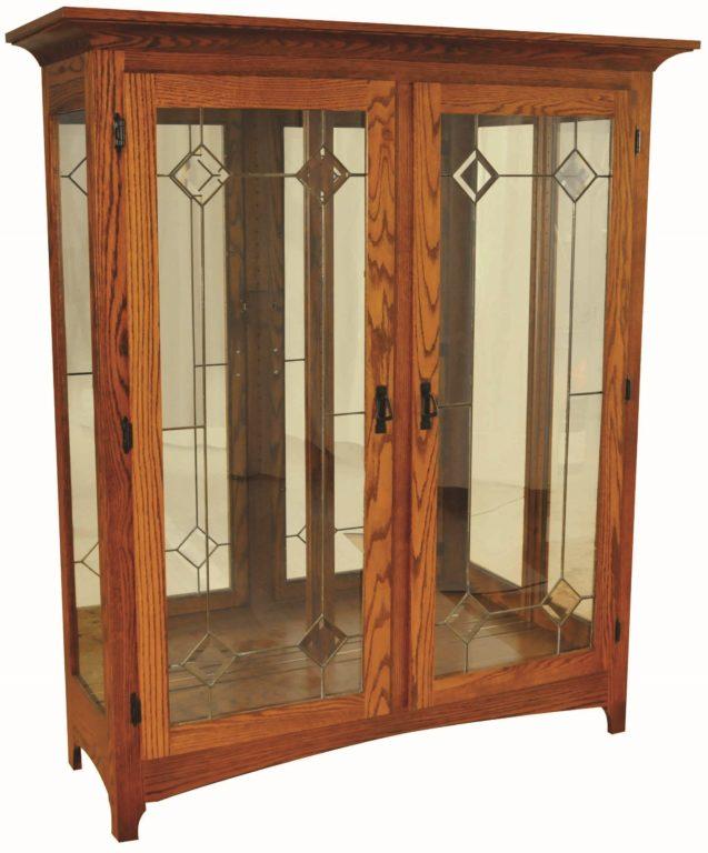 glass china cabinet