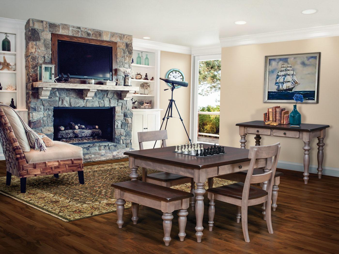 serenity game room wood furniture ky