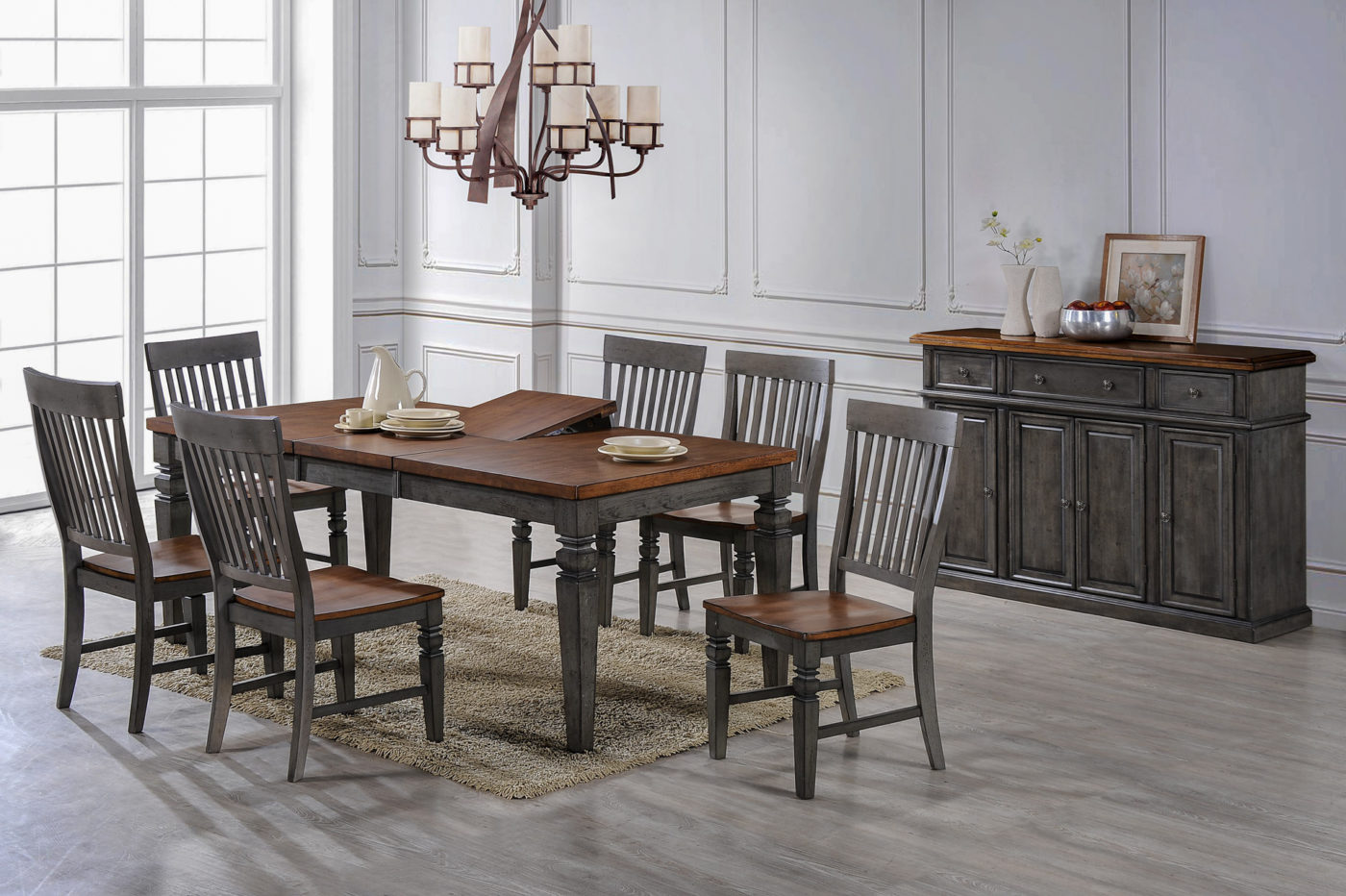 solid dining room sets in ky