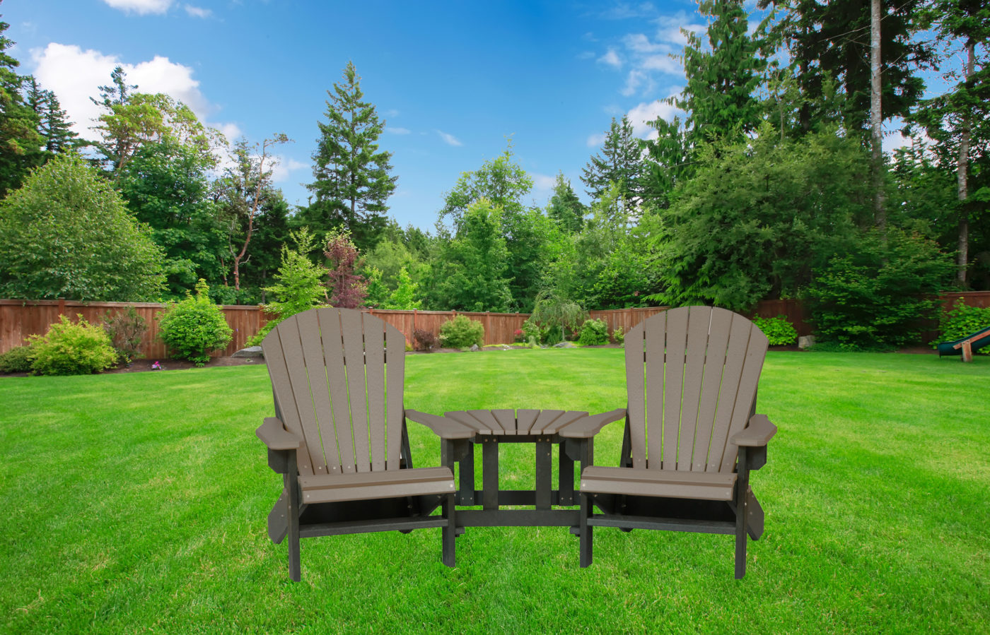 solid outdoor patio furniture