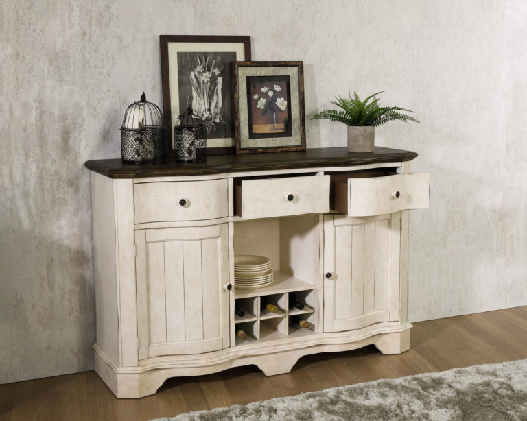 rustic dining room cabinet