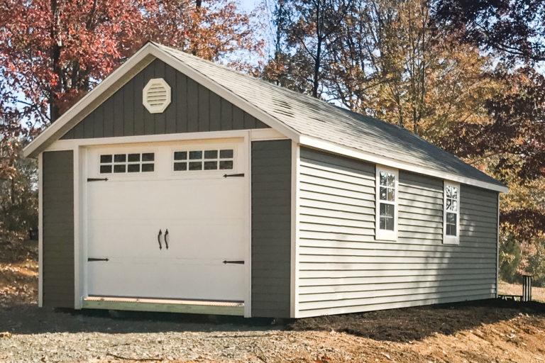 single car pre built garages