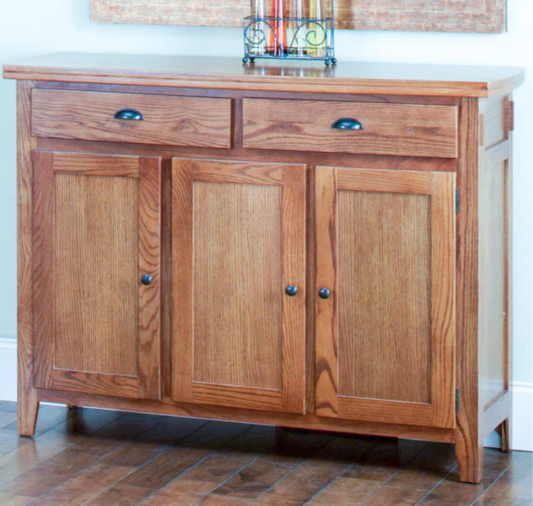 wooden dining room cabinet